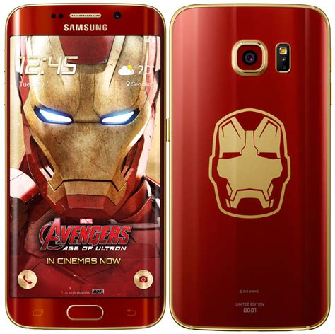 Samsung S6 Limited Edition samsung galaxy s6 edge iron limited edition announced