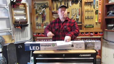 led garage lights costco innova led shoplight review costco