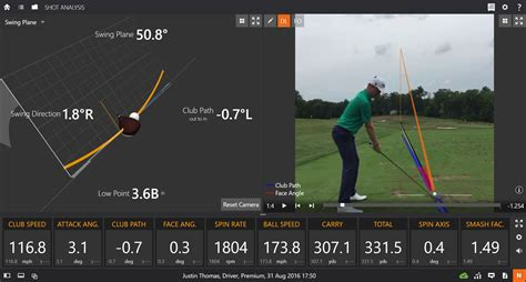 trackman swing plane tech talk how does trackman work national club golfer
