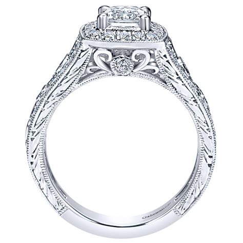 gabriel co engagement rings 66ctw diamonds halo setting