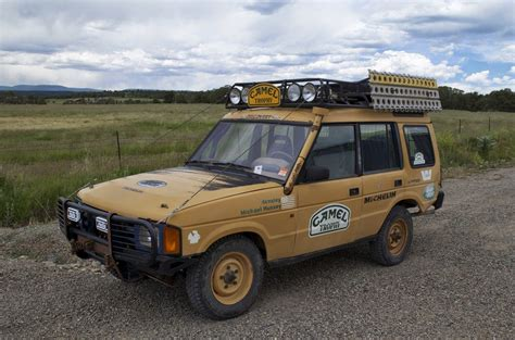 land rover camel 1993 land rover discovery camel trophy spec auto