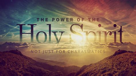 The Power Of 7 8 15 quot the power of the holy spirit not just for