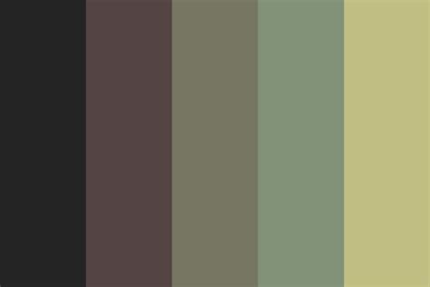 color of sadness sadness color palette
