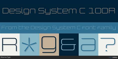 design system e font fontspring similar fonts to design system c