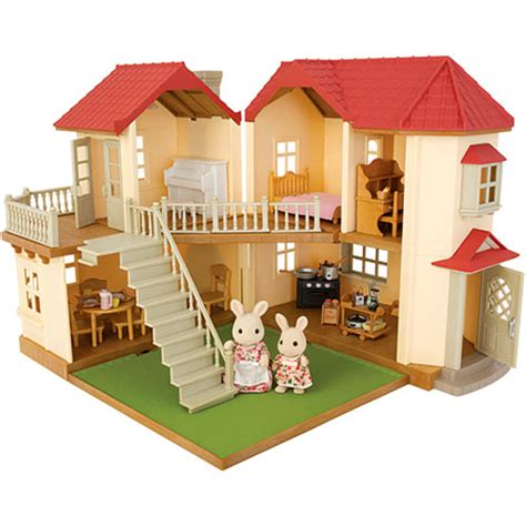The Critter Room Live by Calico Critters Cloverleaf Townhome Gift Set Cc2066