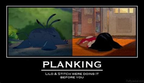 Lilo And Stitch Meme - lilo stitch planking laughter smiles pinterest