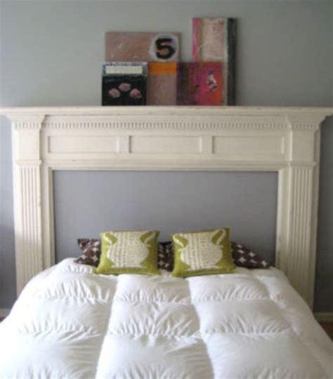 look diy mantelpiece headboard diy headboards mantle