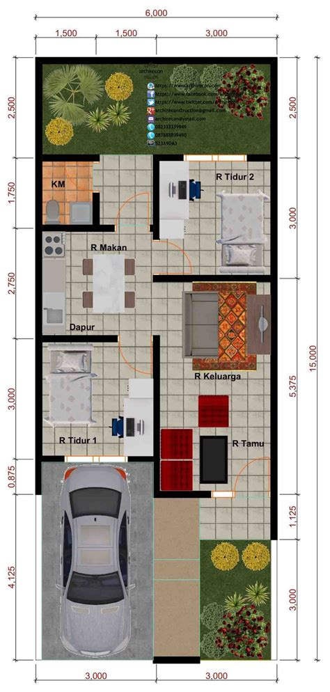 desain interior rumah minimalis type 45 617 best images about planos de casas on pinterest
