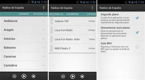 emisoras radio españa lista descargar app de radios de espa 241 a para android gratis