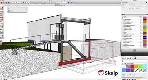 layout sketchup hatch skalp sections and patterns for sketchup