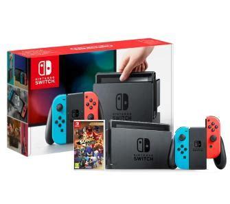 Nintendo Switch Sonic Forces Bonus Edition nintendo switch con czerwono niebieski sonic