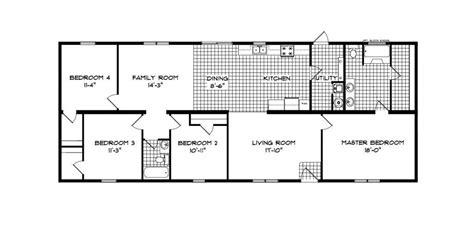 jefferson floor plan jefferson ranch modular home 1 813 sf 4 bed 2 bath