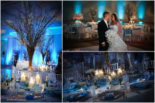 White Chair Rentals Peabody Hotel Orlando Ice Castle Wedding Heather And Chris