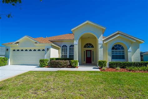 three bedroom villas orlando the retreat orange tree luxury 4 bed 3 bath florida villa