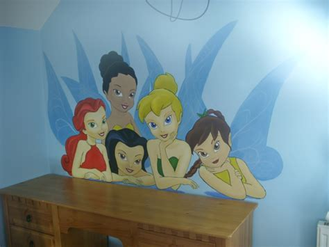 tinkerbell wall murals tinkerbell wall mural 3 by cheal on deviantart
