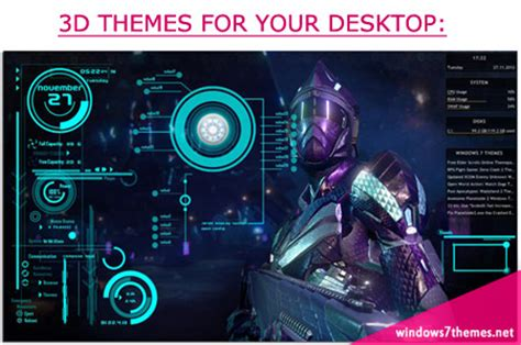 3d themes for windows 8 1 download windows 7 iron man theme