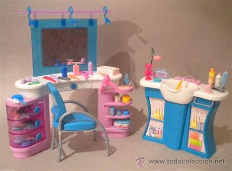 juegos de salon de belleza y peluqueria muebles barbie peluqueria salon de belleza con comprar
