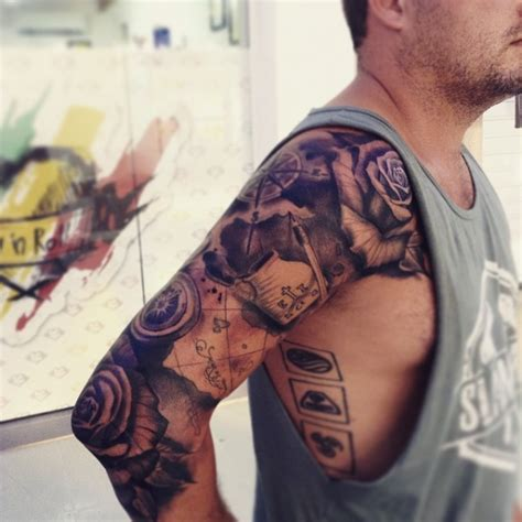 travel tattoos for men 38 more travel related tattoos from backpackers