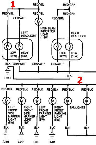 92 accord light wiring diagram get free image about