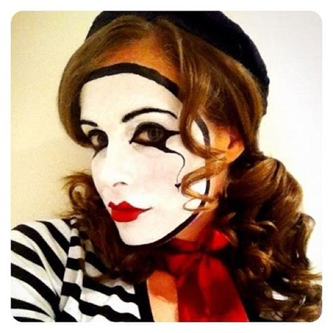 tutorial makeup mime 407 best mime makeup and costume ideas images on pinterest
