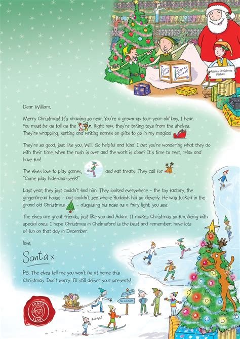nspcc charity letter the 33 best images about nspcc letter from santa on