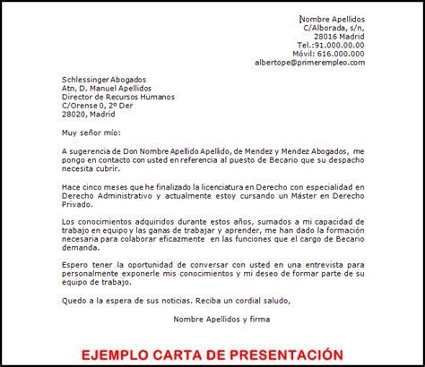 Modelos Carta Presentacion Curriculum Email El De Los Parados La Carta De Presentaci 243 N Para El Curriculum