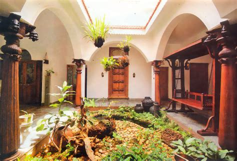 traditional kerala home interiors small courtyard ideas and photos exterior small green