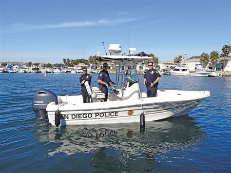 boat lettering san diego sdpd celebrates arrival of new boat the log
