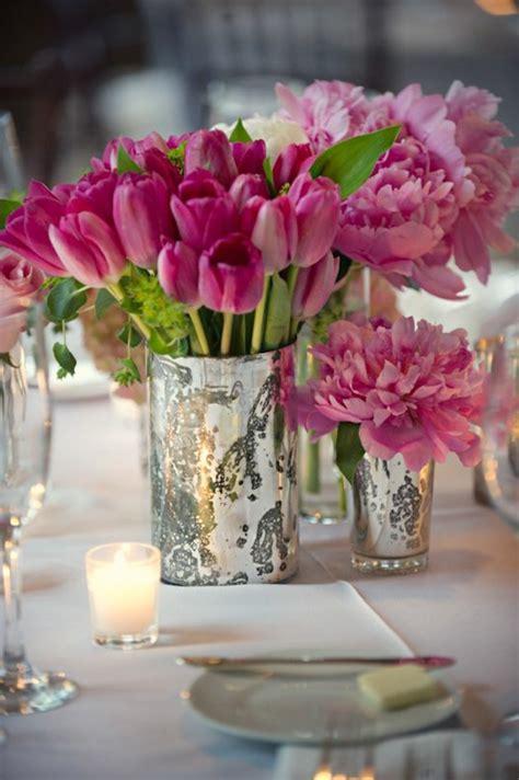 schöne tischdeko 100 tolle ideen f 252 r tischdeko mit tulpen