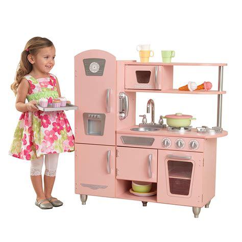 cocina kitchen kitchen for children kidkraft vintage pink