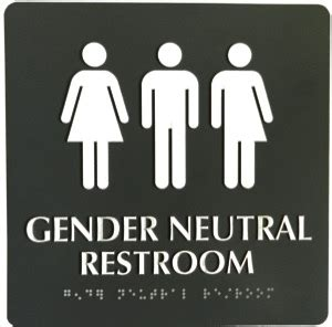 gay bathroom signals a restroom pictogram that sends the wrong message lgbt