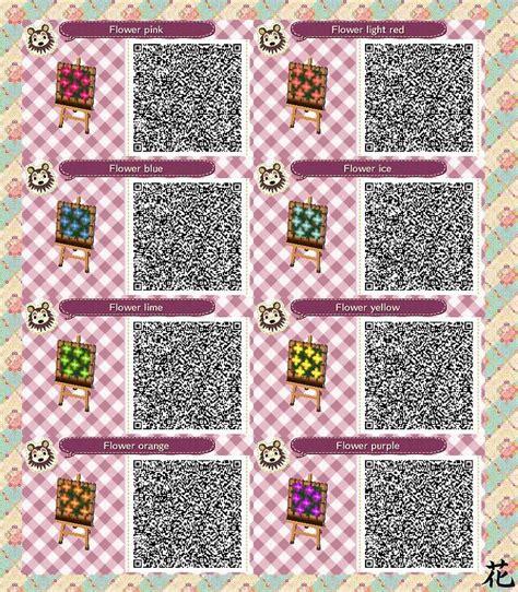 acnl pink wallpaper qr acnl qr code flower beds acnl qr codes pinterest qr