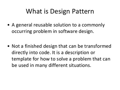 what is pattern in javascript javascript common design patterns