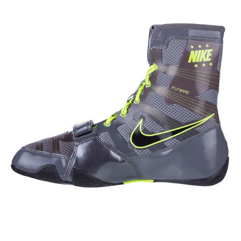 boxing shoes boxing shoes nike hyperko grey neon green fighters