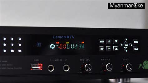 Dvd Karaoke Ktv myanmar karaoke android m 4 myanmaroke hdd karaoke system