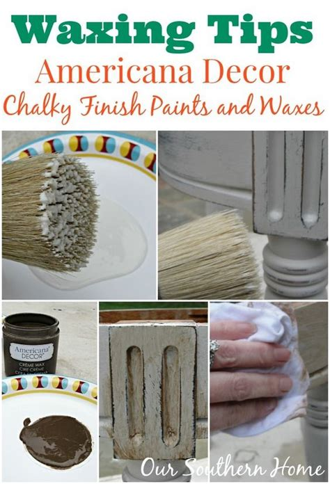 chalk paint diy wax stool makeover waxing tips and chalky paint on