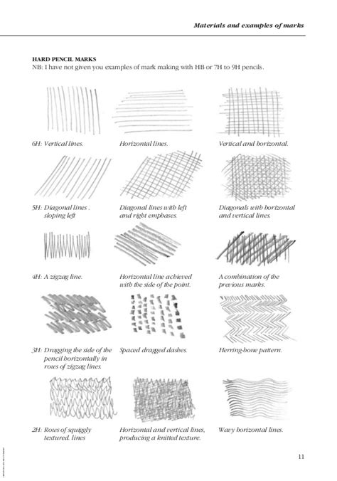 sketching pencils names the complete book of drawing techniques