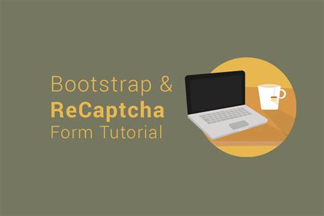 tutorial recaptcha php bootstrap html contact form with captcha step by step