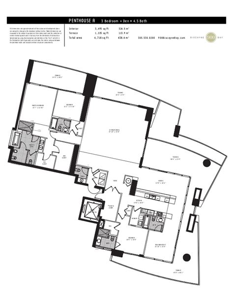 900 Biscayne Floor Plans 900 biscayne bay floor plans