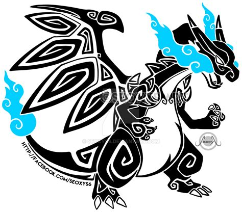 tribal x tattoo the gallery for gt tribal charizard