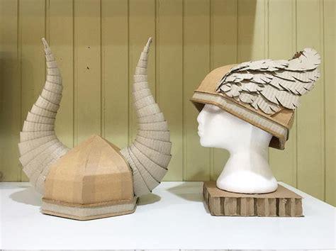 Origami Viking Helmet - cardboard viking helmets by zygote brown zygote brown