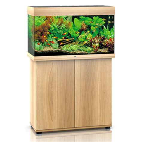 juwel aquarium 125 line led light wood avec meuble