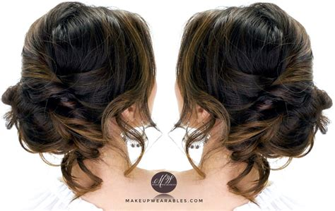 long hair buns for late 30 year old 3 minute elegant side updo everyday easy hairstyles