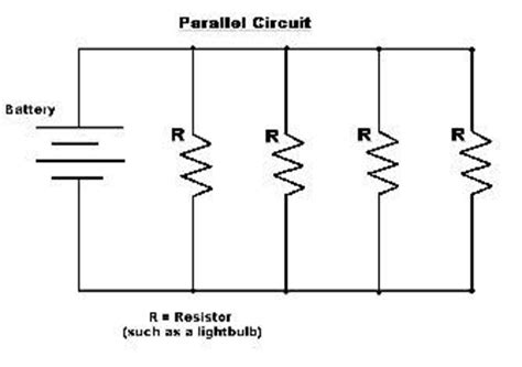 name four different types of resistors why is voltage constant in a parallel circuit quora