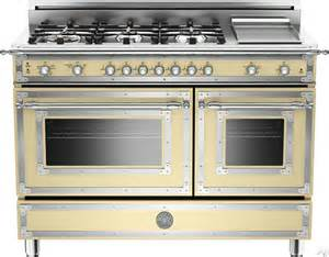Gas Ovens And Cooktops Bertazzoni Her486ggascrlp 48 Inch Traditional Style Gas