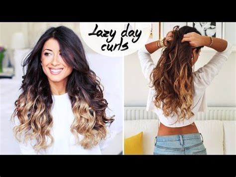 how to get curls like melanie on days of our lives lazy curls for lazy days heatless youtube hairstyles