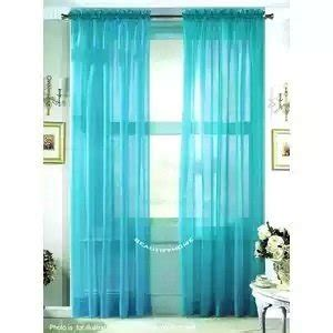 sheer curtains turquoise 1kidandaheadache 2pc soft turquoise voile fully stiched
