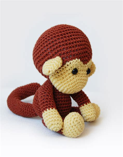 amigurumi pattern monkey johnny the monkey amigurumi pattern pepika amigurumis