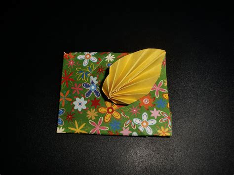 Origami Leaf Envelope - origami blatt umschlag envelope leaf tutorial hd my