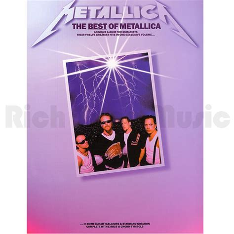 the best of metallica the best of metallica rich tone